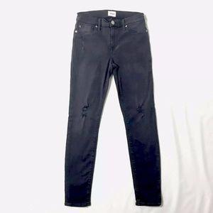 Hudson Natalie Midrise Ankle Super Skinny Jeans